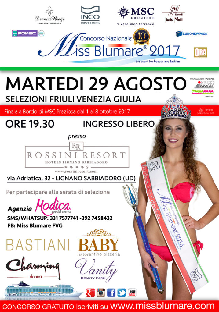 Miss Blumare FVG Fashion Show